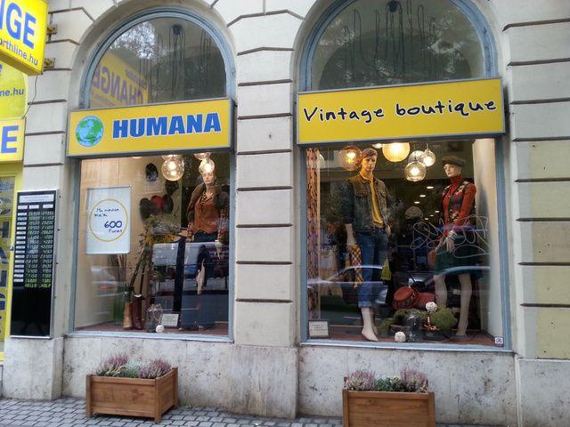 Humana Vintage az Astoriánál: a többi Humana bolt nem nőtt a szívemhez, de eléggé betalált.