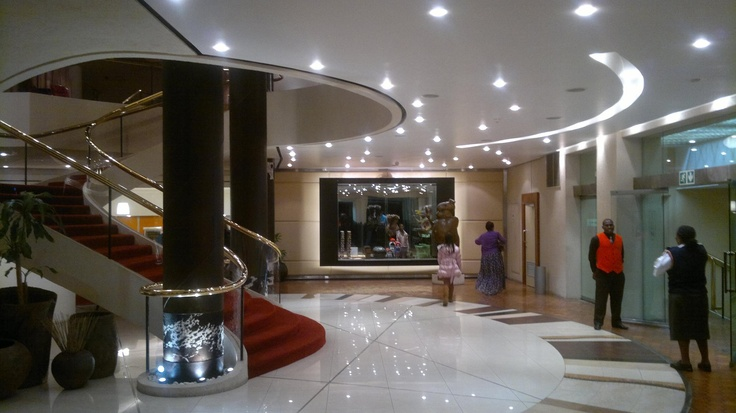 Front foyer of the Durban Playhouse in the CBD