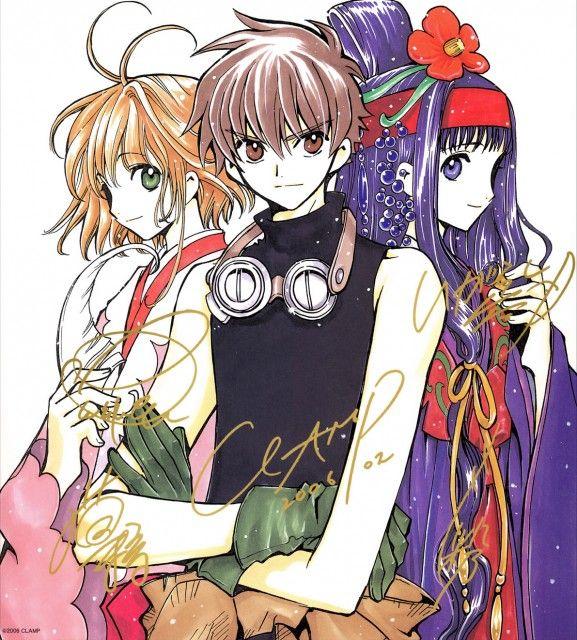CLAMP, Tsubasa Reservoir Chronicle, Syaoran Li, Sakura Kinomoto, Tomoyo Daidouji