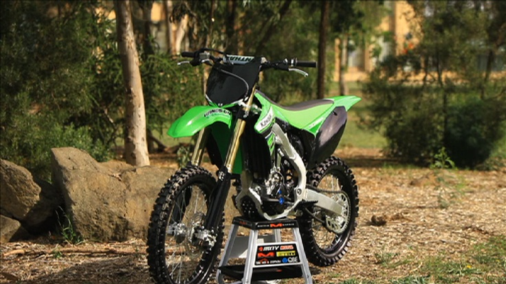 Brendan has this awesome Kawasaki KX 250 F as a project bike this year. Thanks to www.kawasaki.com.au