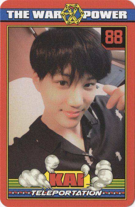 #KAI #EXO KAI photo card @The Power of music album -.-!