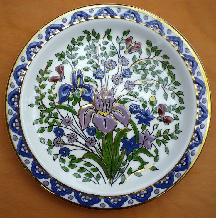 Vintage Greek Rhodes Traditional Wall Plate Hand Made Hiscus Keramik & 79 best Decorative Plate Sets images on Pinterest | Plate sets ...