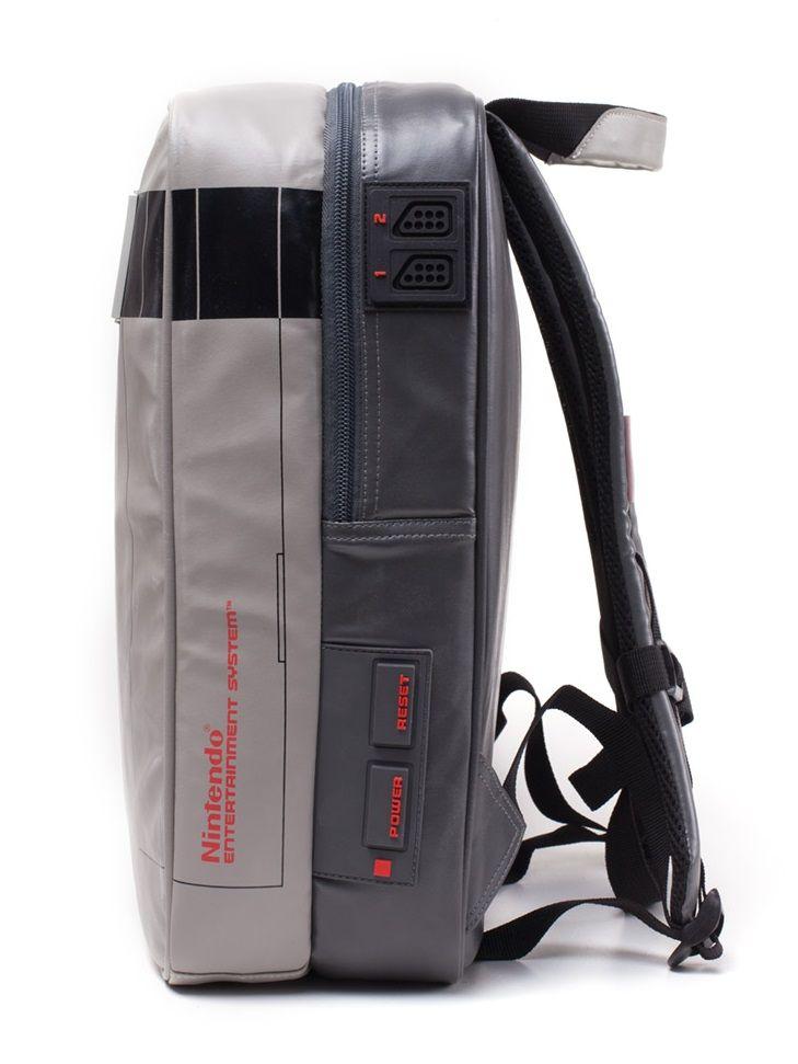 1d1a9b2466dc Nintendo  He Got Game NES Backpack - Merchoid
