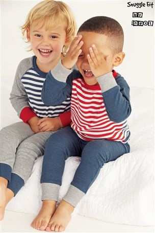 Buy Mix Stripe Pyjamas Two Pack (9mths-6yrs) from the Next UK online shop