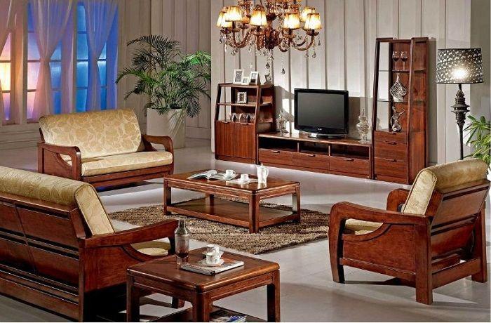 Beautiful Living Room Interior Design With Unique Woodbased Furnitur In 2020 Furniture Design Living Room Sofas Wooden Living Room Furniture Living Room Sets Furniture #wood #furniture #living #room #set
