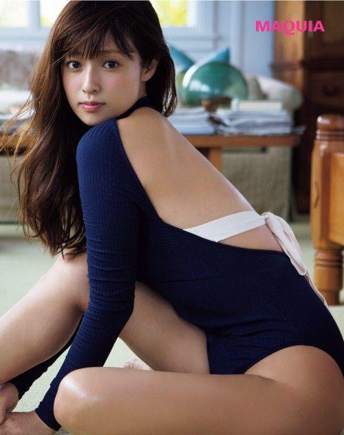 This is 深田恭子 小悪魔キュートな色っぽボディ | MAQUIA ONLINE(マキアオンライン)