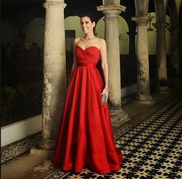 Vestido Madrinha de Casamento de  Camila Coutinho