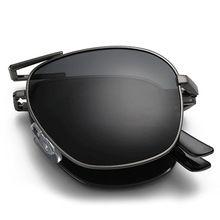 2016 moda plegable gafas de sol polarizadas portátil de diseño especial UV400 polaroid conducción de compras exterior diseñador gafas de sol