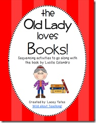 Sequencing Activities for There Was An Old Lady books!