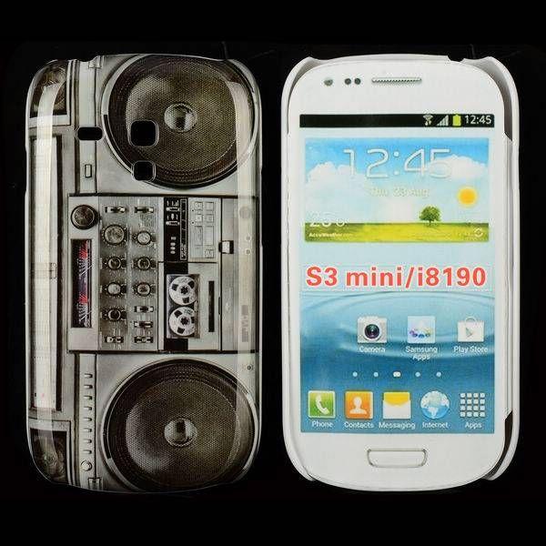 Retro radio design hoesje Samsung Galaxy S3 mini