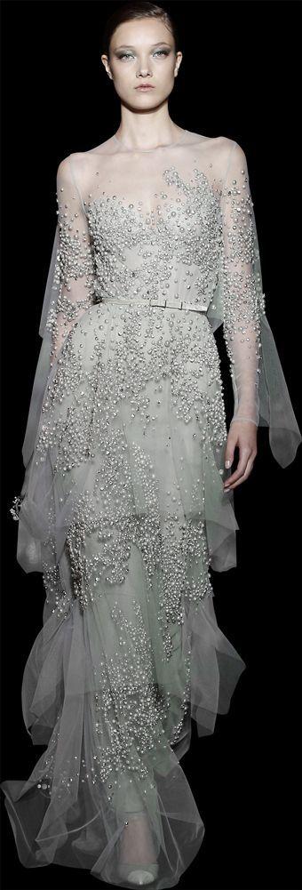 ELIE SAAB - Haute Couture. www.gemsteady.com via: