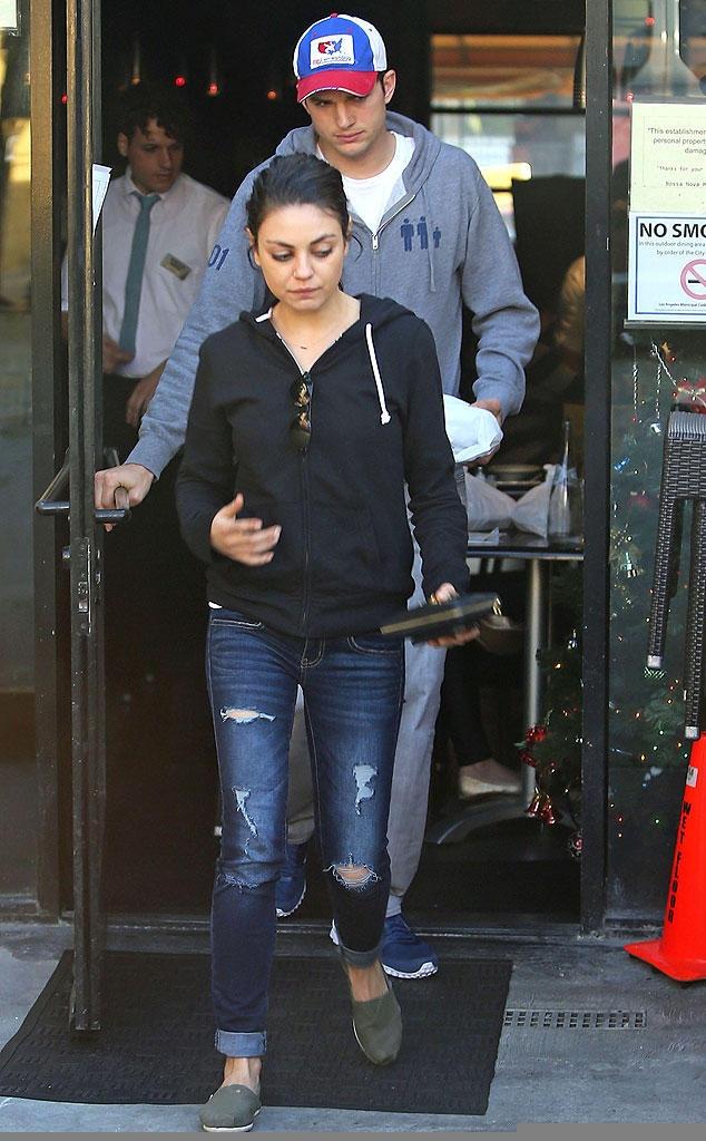 Mila Kunis & Ashton Kutcher ...