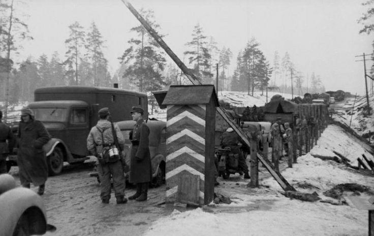 Le Poste de Garde ou le soldat allemand en faction !