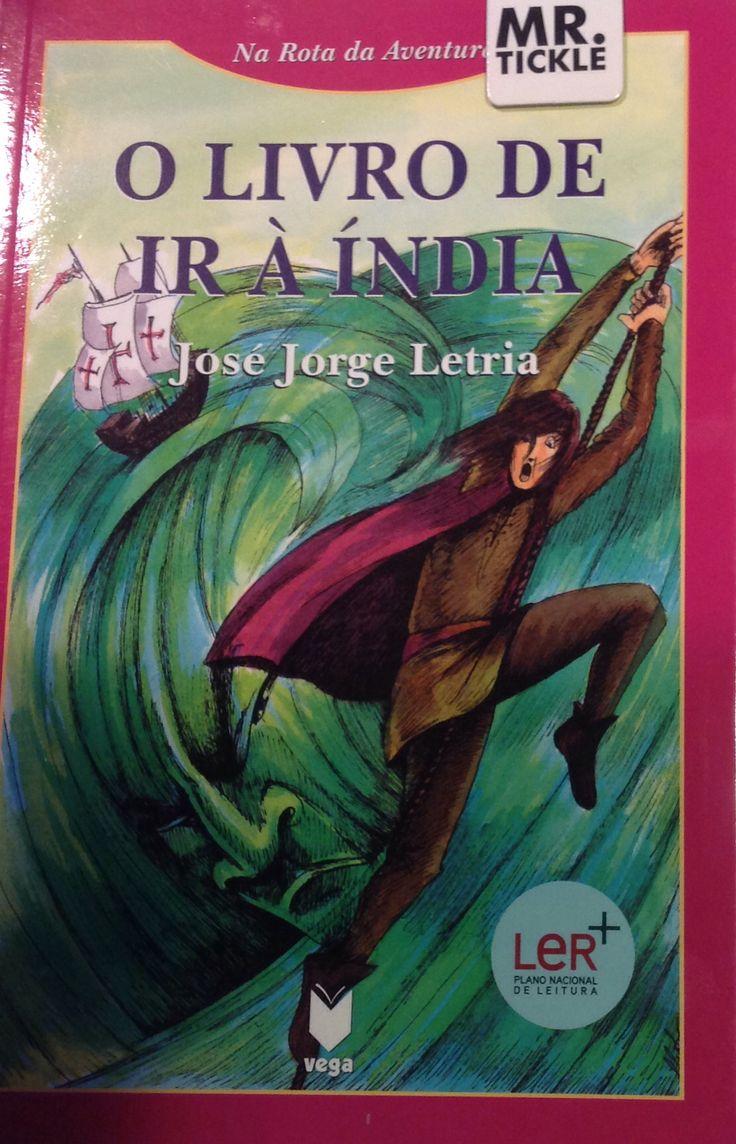 O livro de ir à Índia  José Jorge Letria