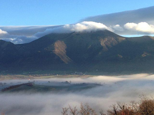 This morning from Villa Dama