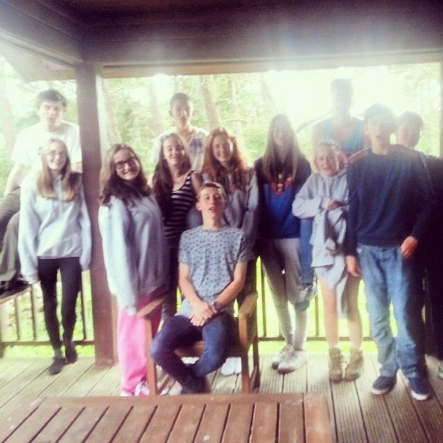 My new little family at NCS! I love you all to pieces! #TeamWard