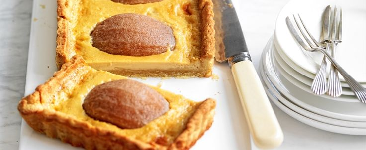 Nashi Pear Butterscotch Tart recipe, brought to you by MiNDFOOD.
