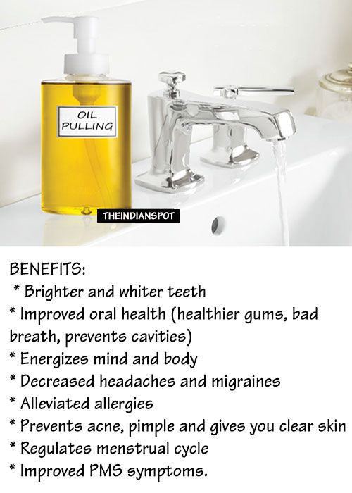 """Oil pulling method is making headlines today because it's getting popular day-by-day. This is the oldest Ayurvedic method which is known to cure 30 diseases. This simple technique makes it possible to treat various diseases and avoid surgical operations and medicines. This method is known as oil pulling method because it """"pulls out"""" bacterial, viruses and fungi from your mouth. Read on to know what exactly is """"oil Pulling Method"""". Oil pulling or also known as oil swishing, is basically a…"""