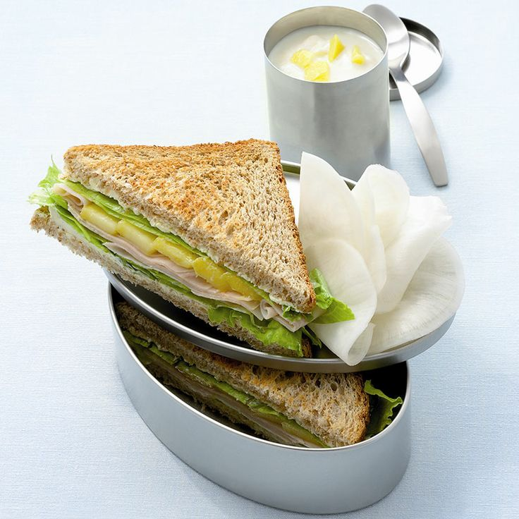 Weer eens wat anders! Sandwich kipfilet met mango #SnelKlaar #WWrecept #WeightWatchers