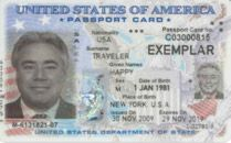 U.S. Passport Card: Reminder