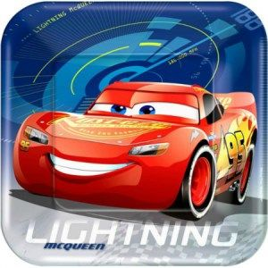 Cars 3 Party Lunch Plates-One Stop Kids Party Shop & 13 best Disney Cars 3 Party Supplies images on Pinterest | Car party ...