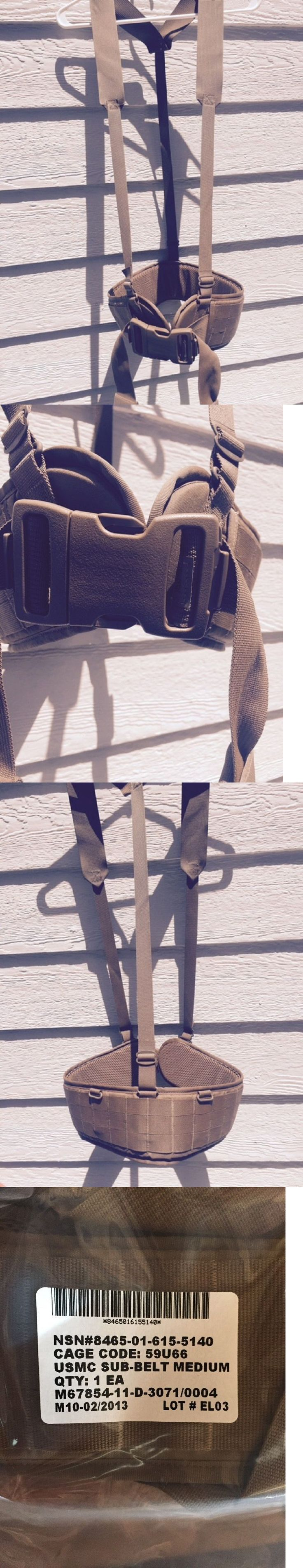 Black leather work gloves nsn - Other Emergency Gear 181415 Usmc Padded War Ilbe Pistol Utility Molle Sub Belt Size Medium