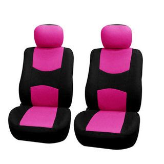 FH Group Pink Front Bucket Covers (Set of 2) | Overstock™ Shopping - Big Discounts on FH Group Car Seat Covers