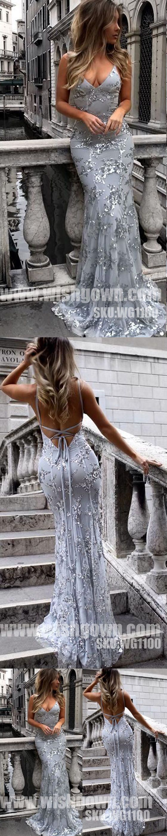 Popular Open Back Mermaid Elegant Cheap Long Prom… -  Prom shopping is alive and well on Pinterest. Compare prices for this @ Wrhel.com before you commit to buy. #Prom