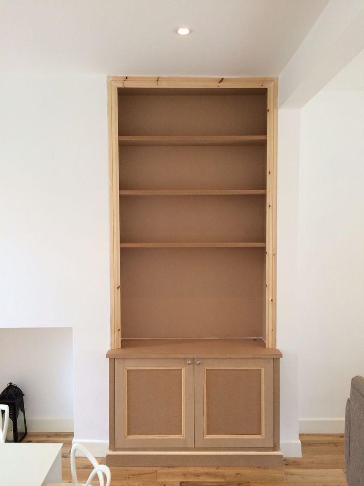 Alcove cupboard www.thefittedfurnitureteam.co.uk