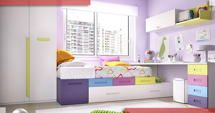 Me encantan los tonos de esta habitación. Ojalá tuviéramos sitio en casa para poner algo así para los cachorritos #vendademobles Mobles Salvany Muebles y decoración Bellvis Lleida