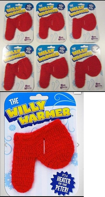 Gag Gifts 19257: 6 New Willy Warmers Weiner Socks Joke Gag Gift Party Adult Prank Heater Ball -> BUY IT NOW ONLY: $250 on eBay!