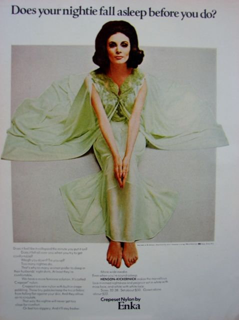 foto de 336 best Vintage Sleepwear Adverts images on Pinterest