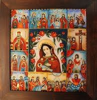 Icoane Pe Sticla Artizanat - Adam Curta - Pictor Iconograf