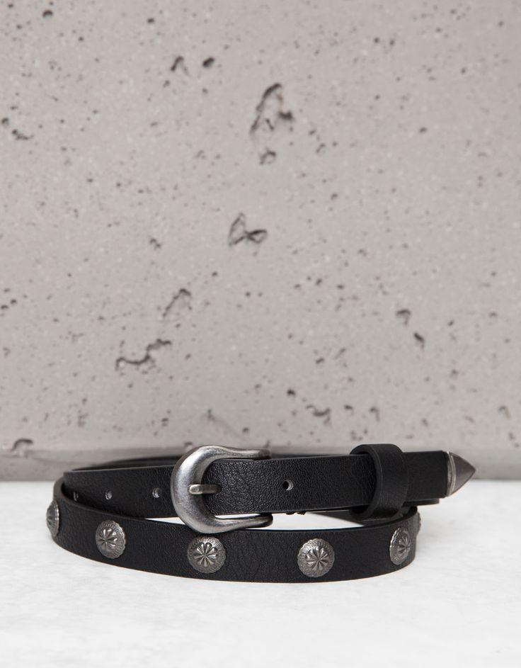 Cintura stile western - Cinture - Bershka Italy
