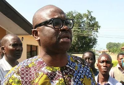 I Won't Contribute To School Feeding Programme, Fayose Tells FG - EtimaNews | Latest News updates in Nigeria