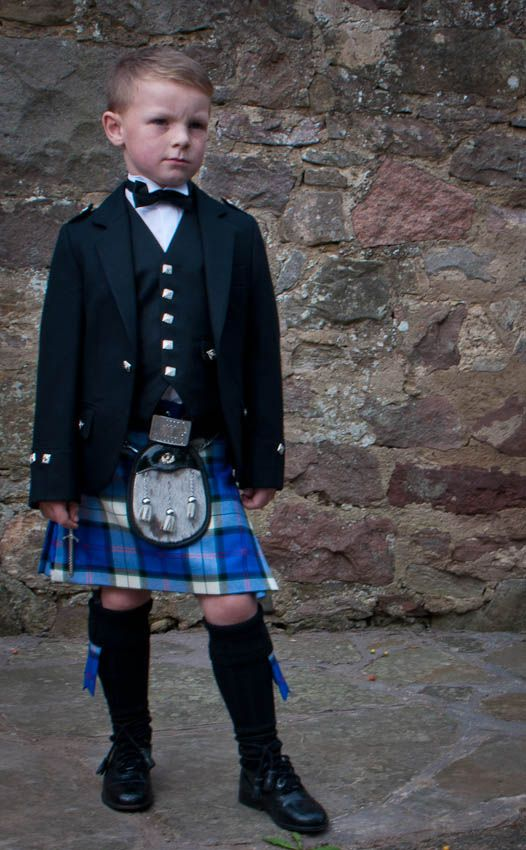 Boy's Argyll Kilt Outfit by Scotweb Tartan Mill. So happy they have this in the Forrester Clan Tartan. Love.