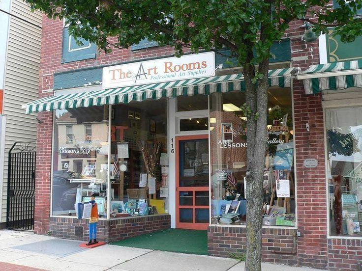 The Art Rooms Professional Art Supplies • Make a Miniature Mixed Media Artwork in #ShopShowcase with The Art Rooms Professional Art Supplies in Havre de Grace, Maryland.