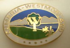 Enamel Pin Badge CUMBRIA - WESTMORLAND W.I. WOMEN'S INSTITUTES