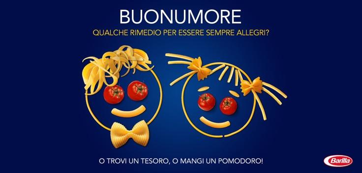 Oggi ci vuole Buonumore e una nuova #NotiziadiPasta! Siete d'accordo? http://www.facebook.com/Barilla