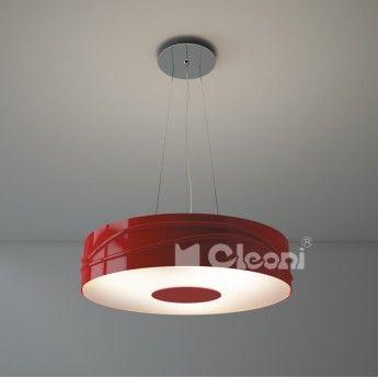 Nuoro 700 Wisząca - Cleoni - lampa wisząca abanet.pl  #design #lampy #oświetlenie #Cleoni