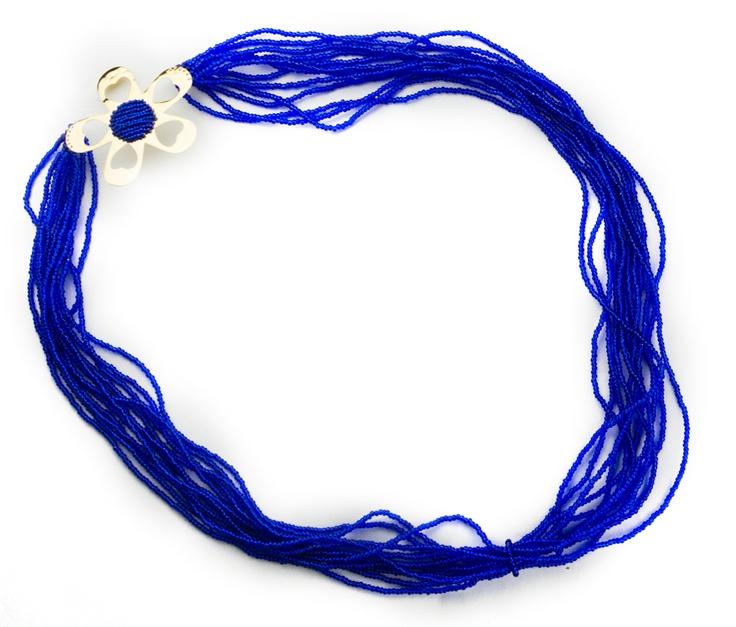 Maxi Collar Azul Rey