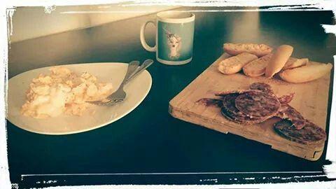 Desayuno ibérico Littleno...^^ Laura desde Barcelona♡♡♡