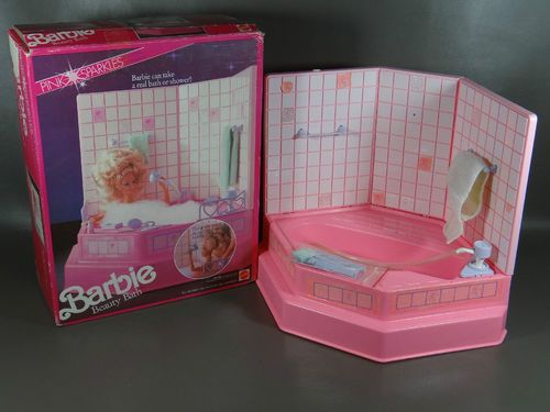 Barbie Beauty Bath Pink Sparkles 1990- I had this when I was little @Michelle Flynn Keller