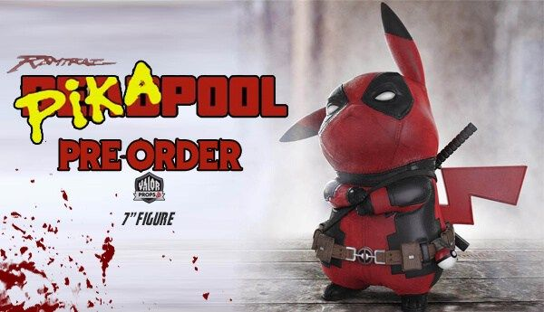 Pre-order Pikapool Figure By Ralph Andres Art of Ramtraz x Valor Props | The Toy Chronicle