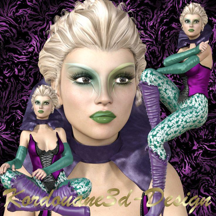 Gypsy : Tube de femme fantasy (image-png)