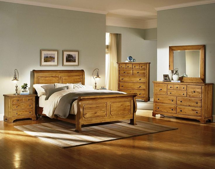 oak bedroom furniture sets - bedroom interior decoration ideas