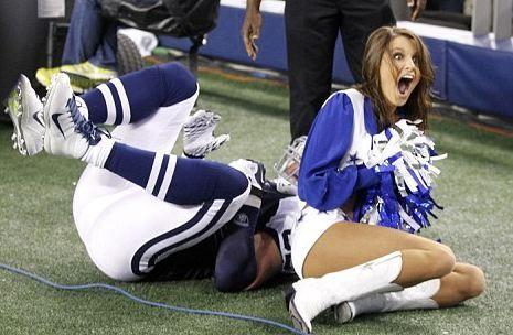 dallas cowboys cheerleader melissa kellerman | Tackled Dallas Cowboys Cheerleader Melissa Kellerman Forced Off ...