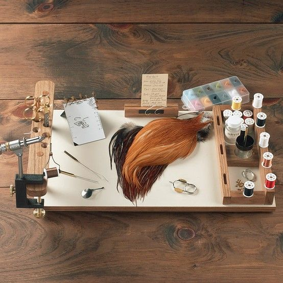 Just found this Portable Fly Tying Bench Fly Tying Supplies - Fly-Tying Work Center -- Orvis on Orvis.com!