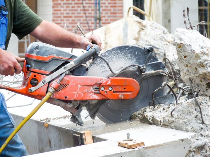 Concrete Cutting Saw - The Ultimate Power Tool  #ConcreteCuttingSaw