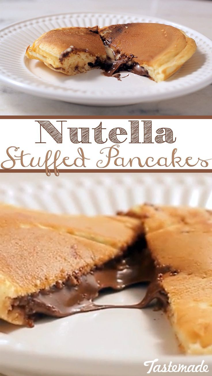 Because any breakfast is better when Nutella is involved. Cut into these pillows of heaven and you're bound to have a perfect day.